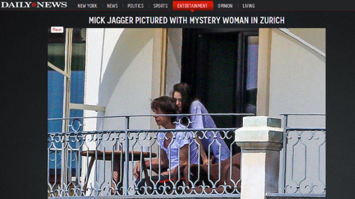 Fotos de Mick Jagger con mujer desatan molestia de familiares de su fallecida novia