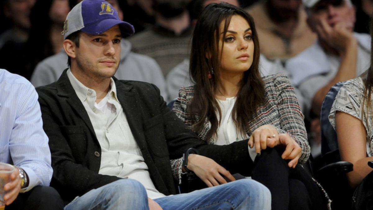 Mila Kunis y Ashton Kutcher fueron padres por primera vez