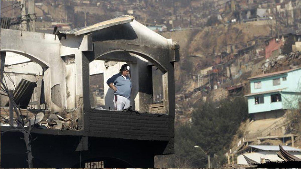 Minuto a minuto: Valparaíso busca levantarse tras incendio