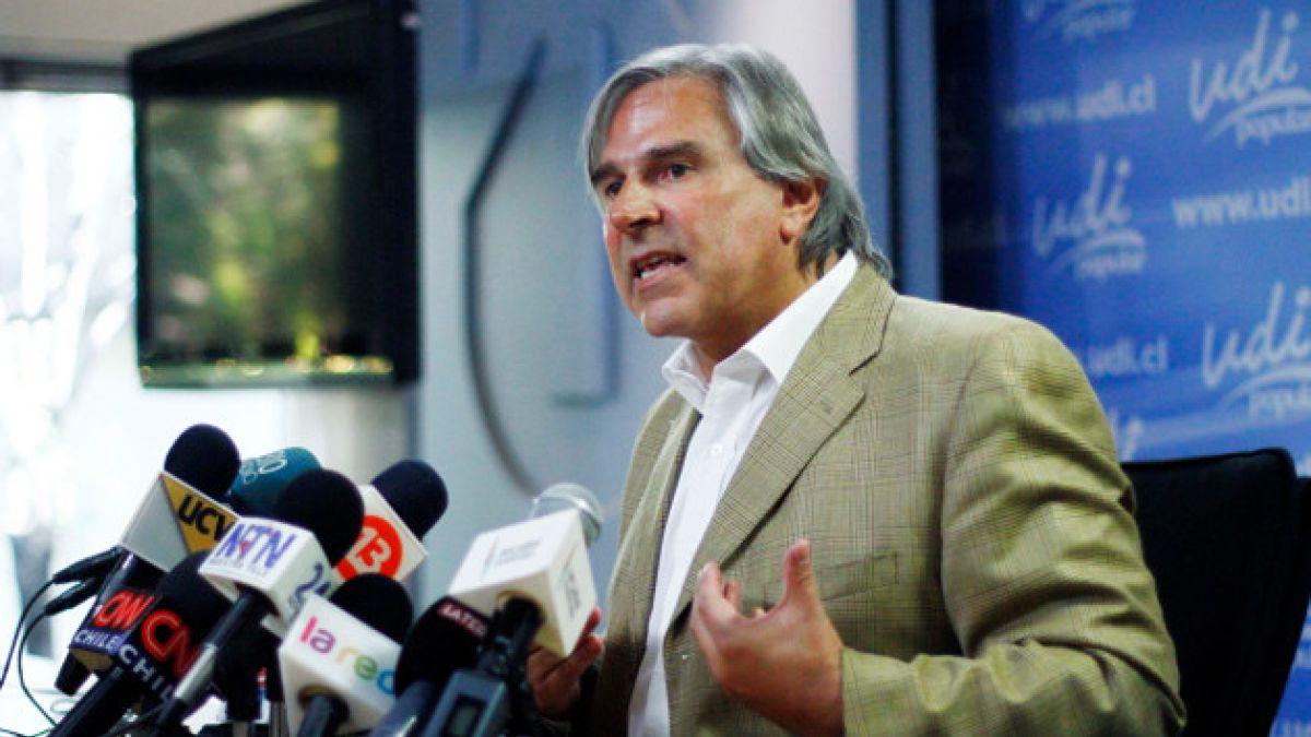 Iván Moreira por caso Penta: Se están ensañando conmigo y con Andrés Velasco