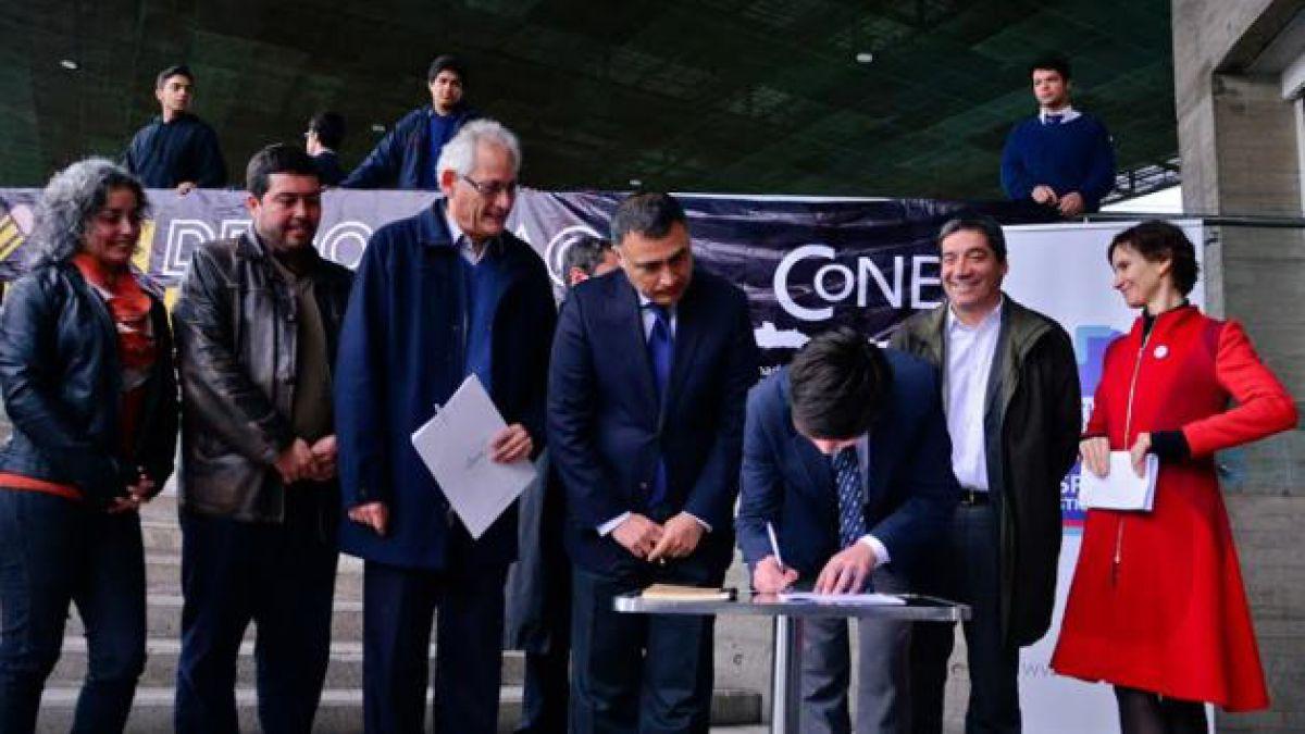 Los tres ejes del acuerdo entre Municipios y la Cones que empodera a los consejos escolares