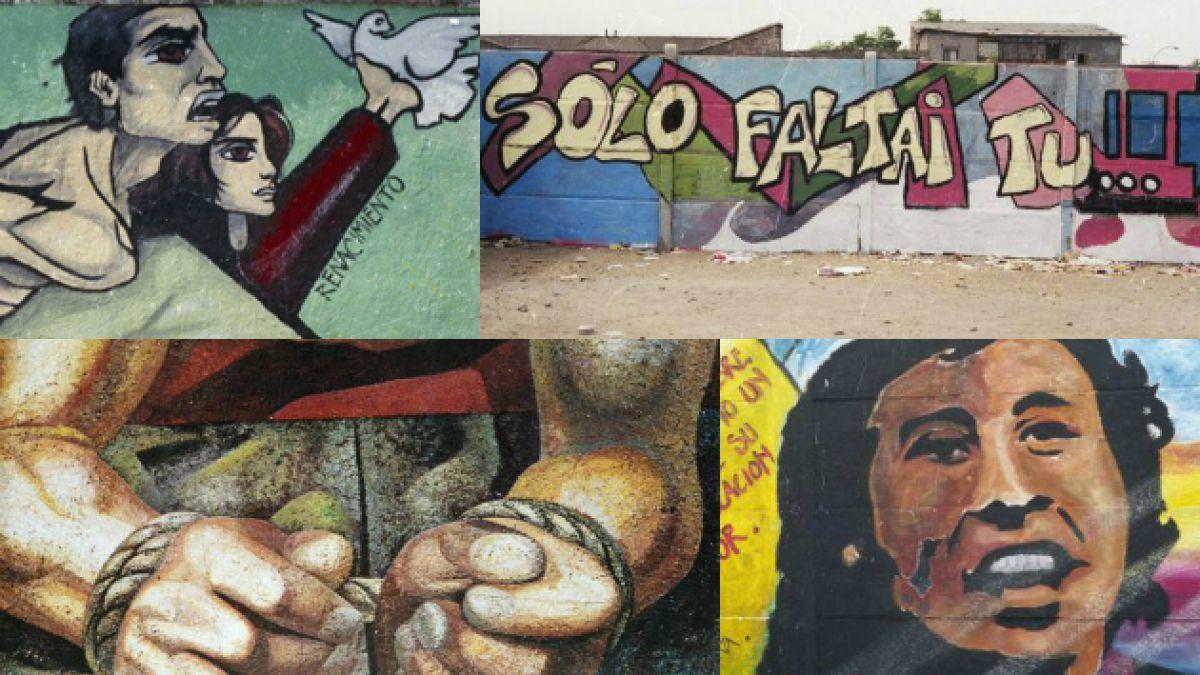 Biblioteca online de Harvard sube a la web murales chilenos creados durante la dictadura