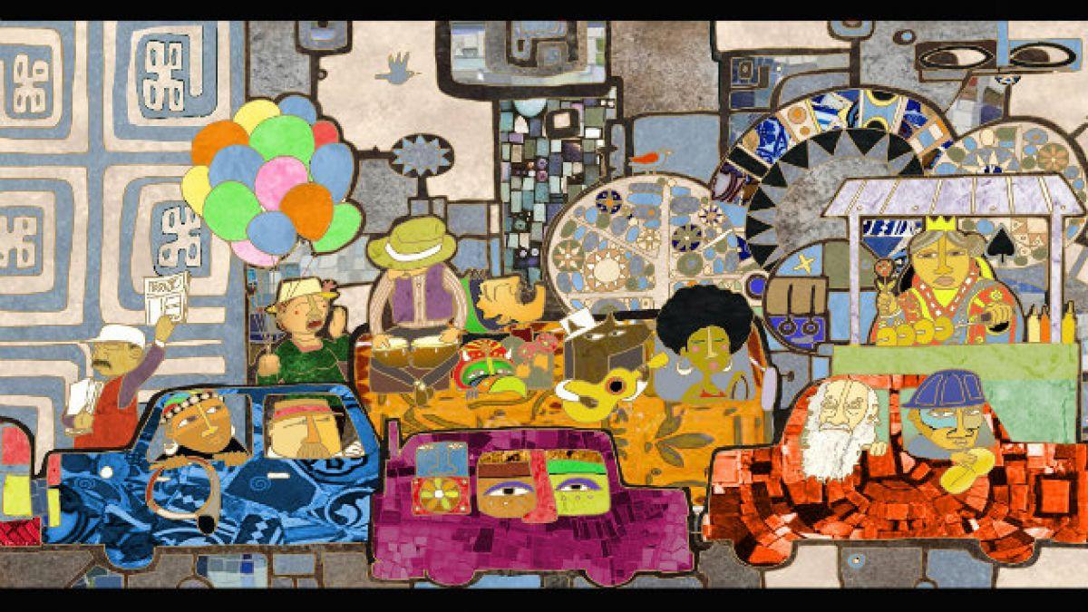 Las cuatro reinas de Chile el mural ganador para la intervención urbana del paso nivel Av. Matta