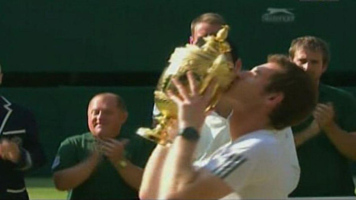 Histórico triunfo: Británico Andy Murray ganó Wimbledon