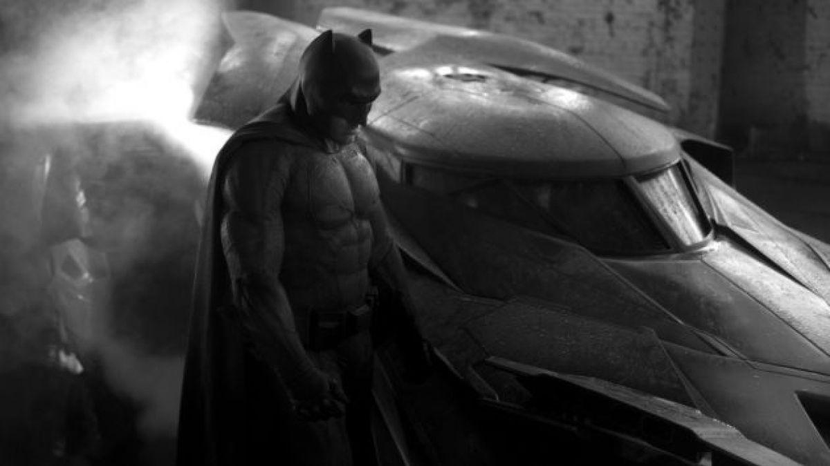 [Foto] Este es el traje que usará Batman en su lucha con Superman