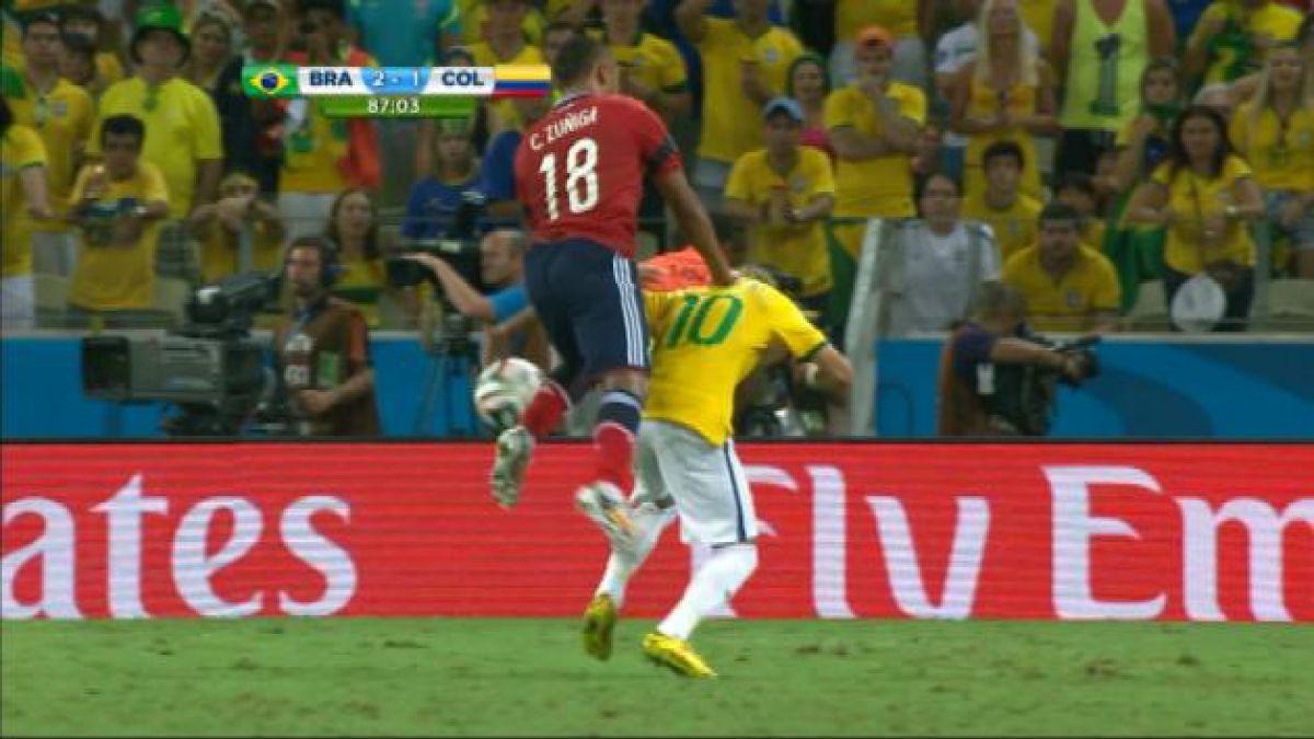 Neymar sufre fractura en vértebra lumbar y se pierde lo que queda de Mundial