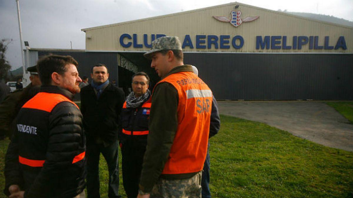 Orrego por avioneta extraviada en Melipilla: Se está haciendo todo lo humanamente posible