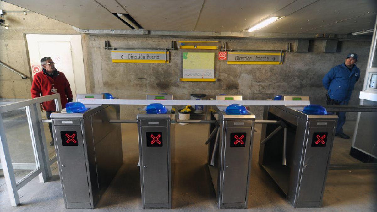 Paro de trabajadores del Metro de Valparaíso continuará este viernes