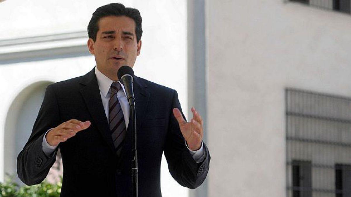 Ministro Peñailillo: La ley antiterrorista va a tener la urgencia necesaria
