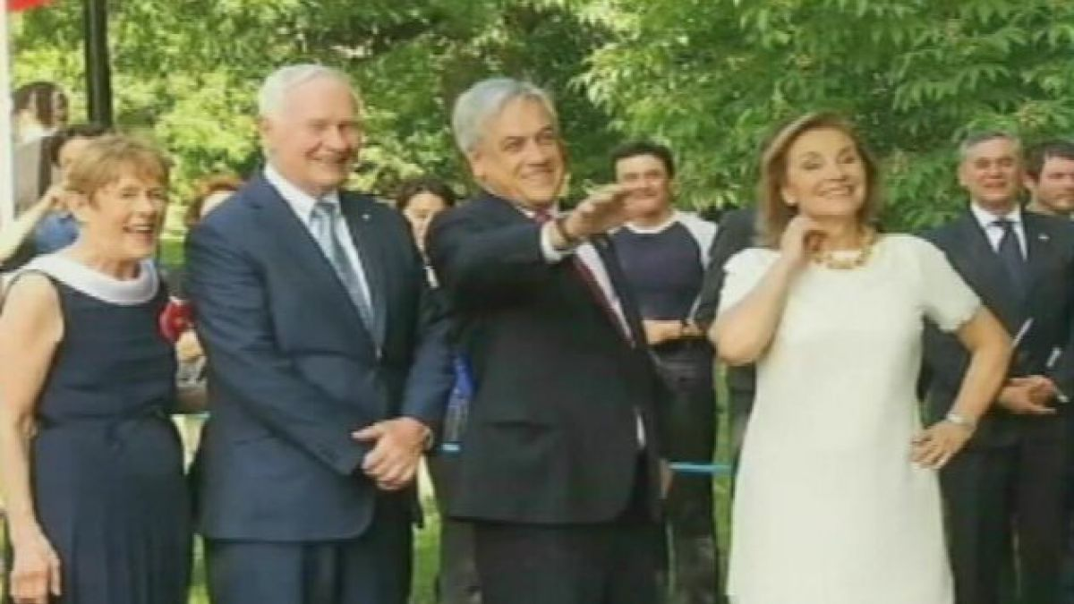 Presidente Piñera inaugura estadio para deporte amateur
