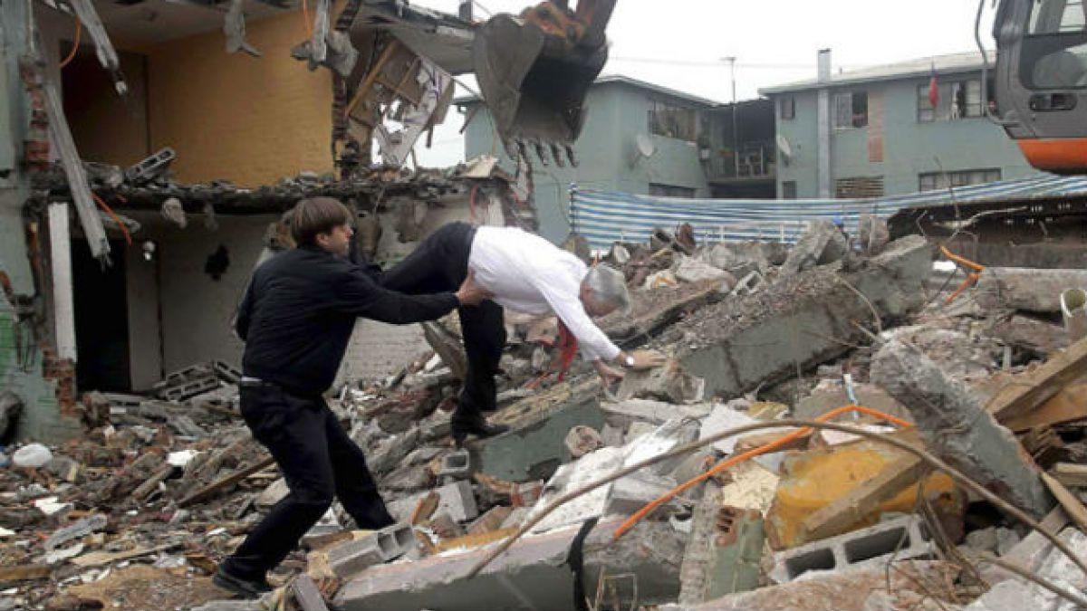 Registro de la caída del ex Presidente Piñera es elegida la foto del 2013