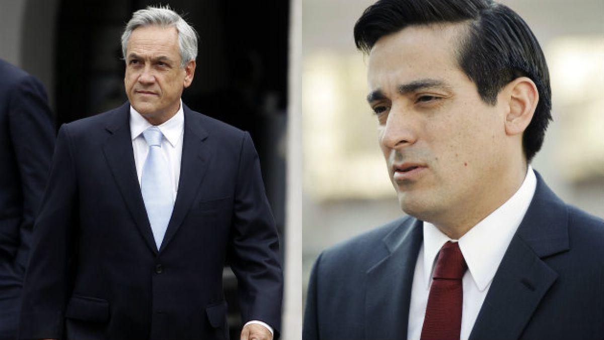 Piñera vs. Peñailillo: el historial de enfrentamientos entre el ex gobernante y el ministro del Inte