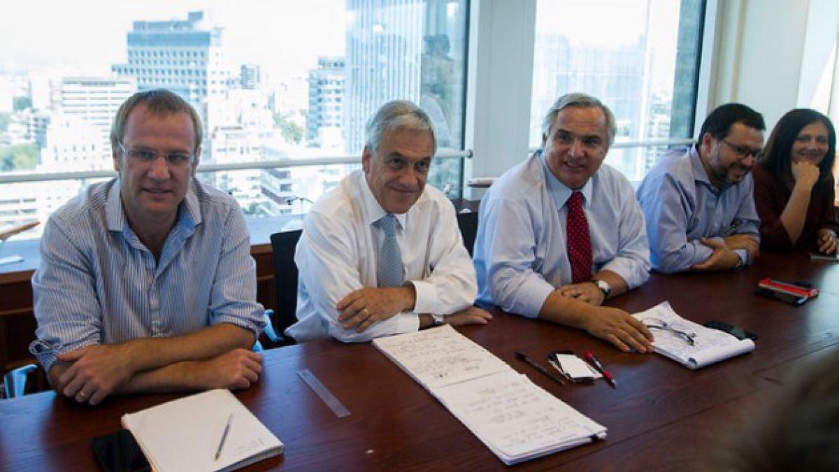 Sebastián Piñera se reunirá con Evópoli por futuro y proyección de la oposición