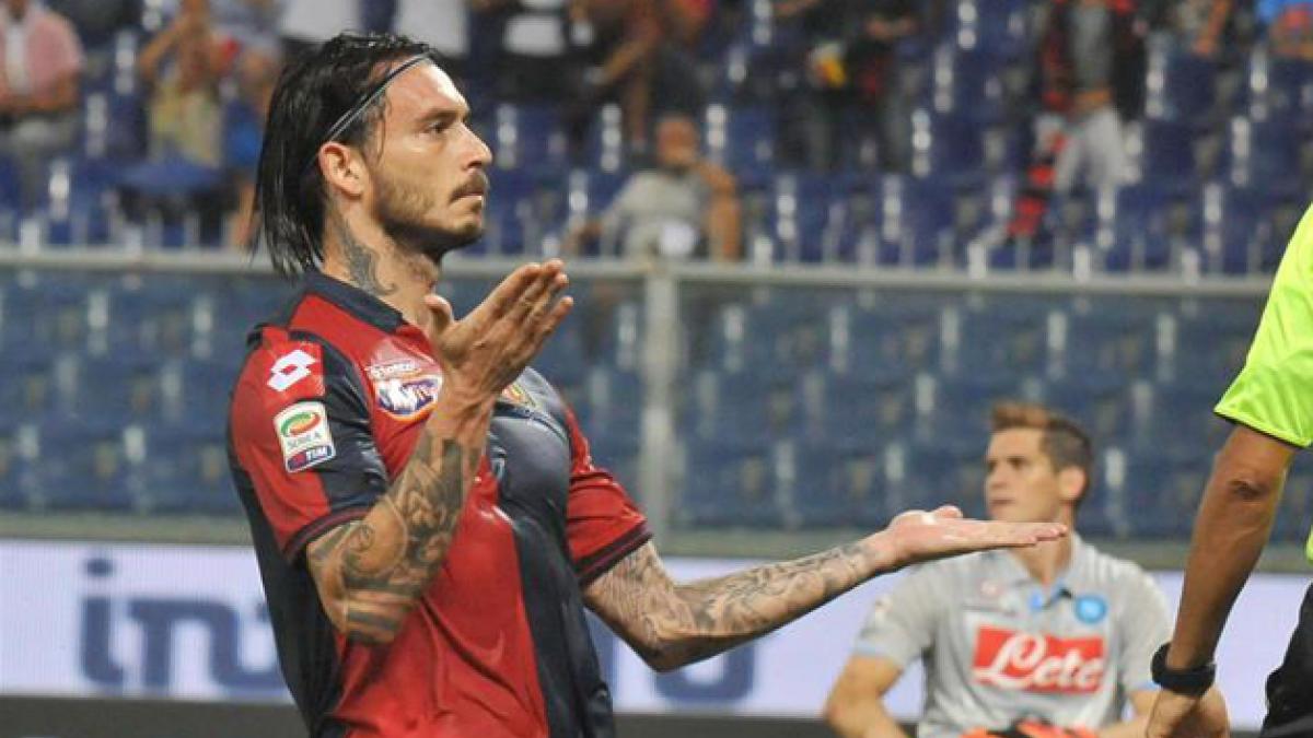 [VIDEO] El gol de Pinilla que confirma su racha goleadora en el Genoa
