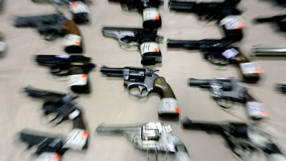 Uso y tenencia de armas en Chile: hechizas fueron el 11% de las destruídas en 2013