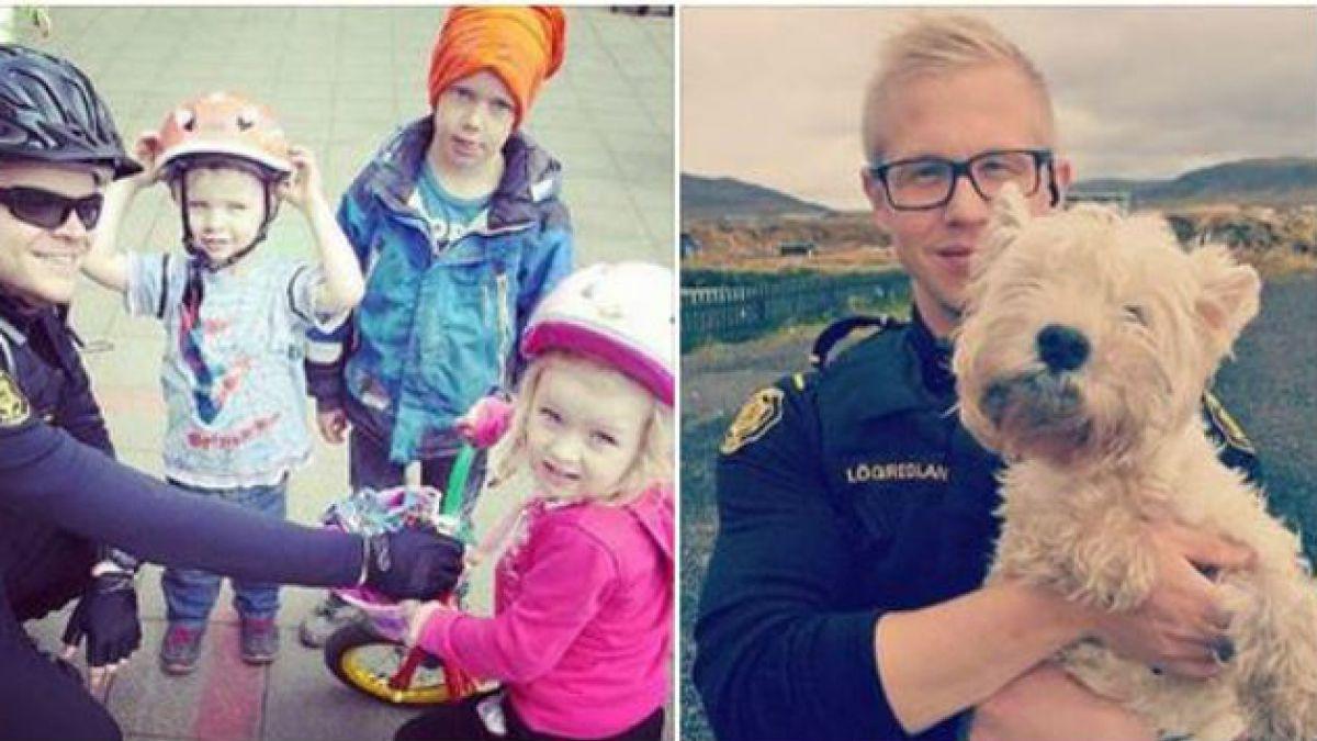 Cuenta oficial de la Policía islandesa en Instagram es considerada de las más adorables