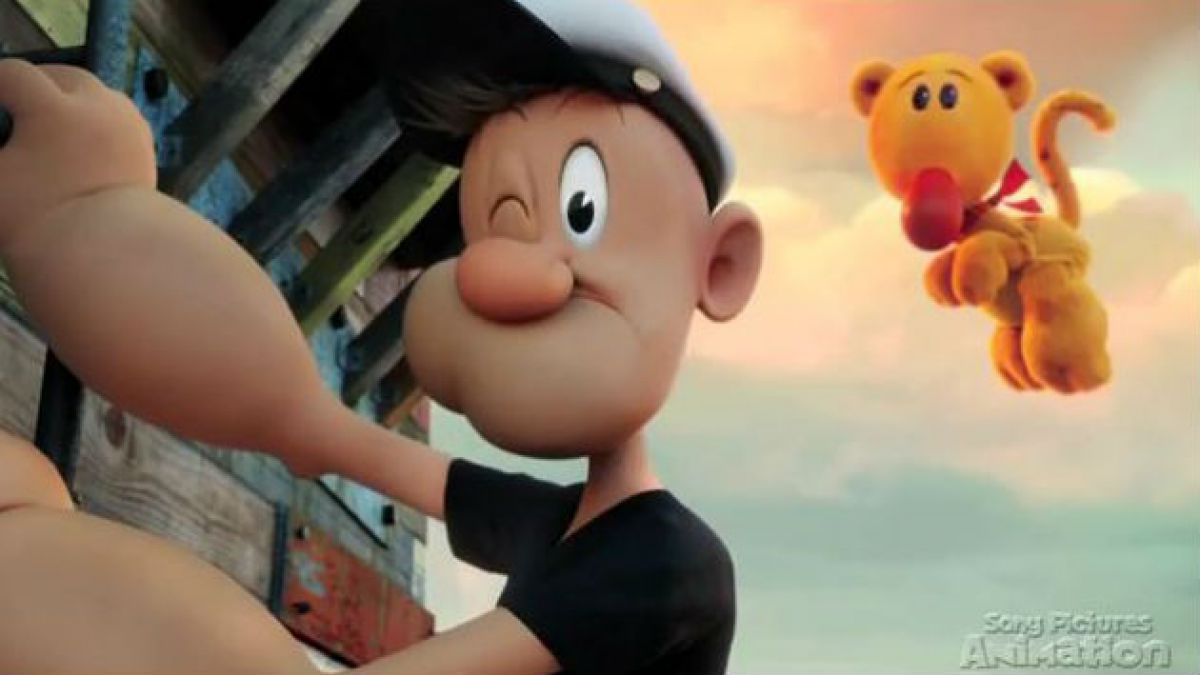 [VIDEO] Las primeras imágenes de la película animada de Popeye