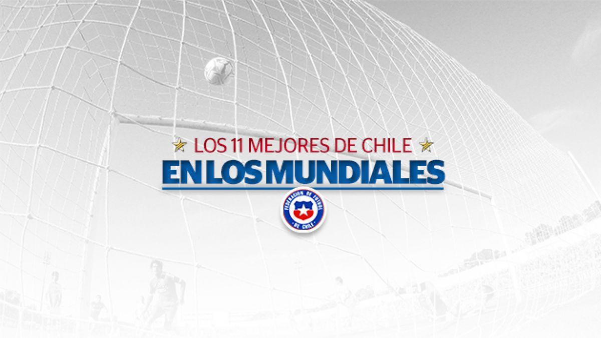 Expertos eligen a los 11 mejores chilenos en la historia de los mundiales