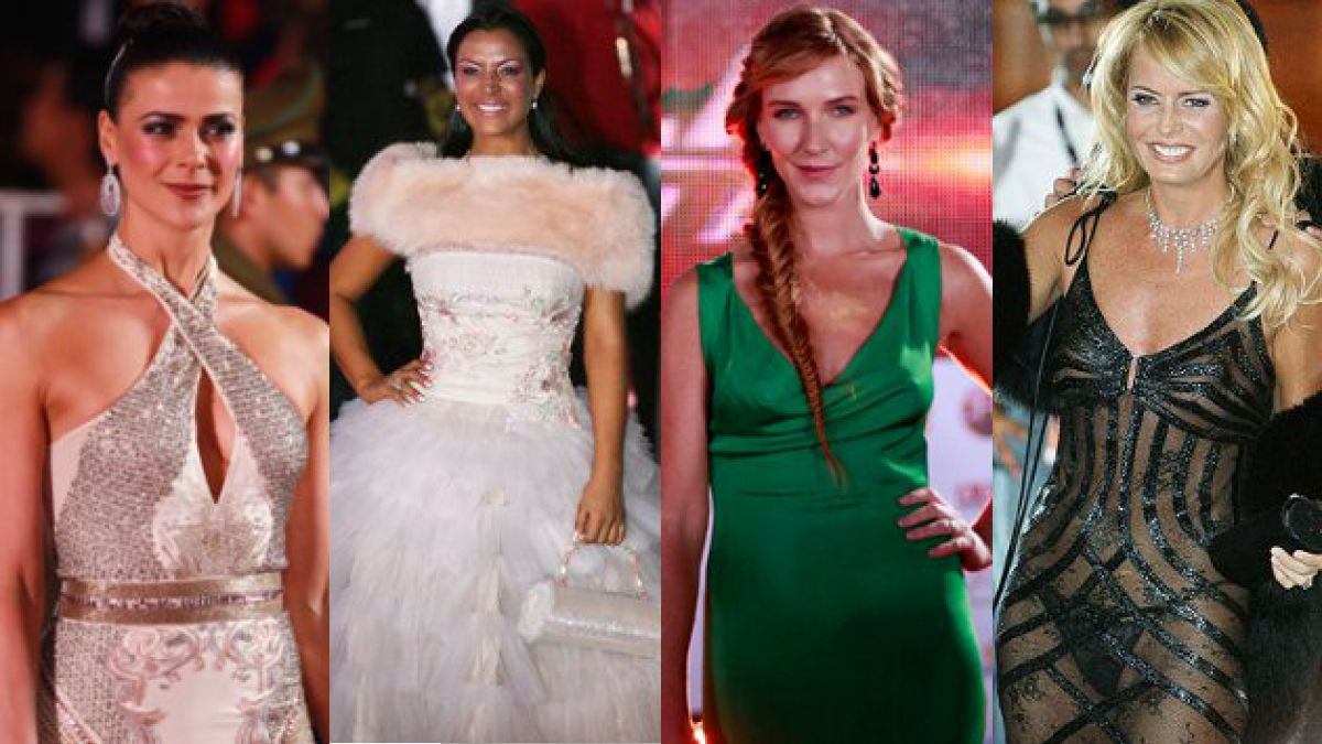 Los 20 looks memorables de las galas festivaleras