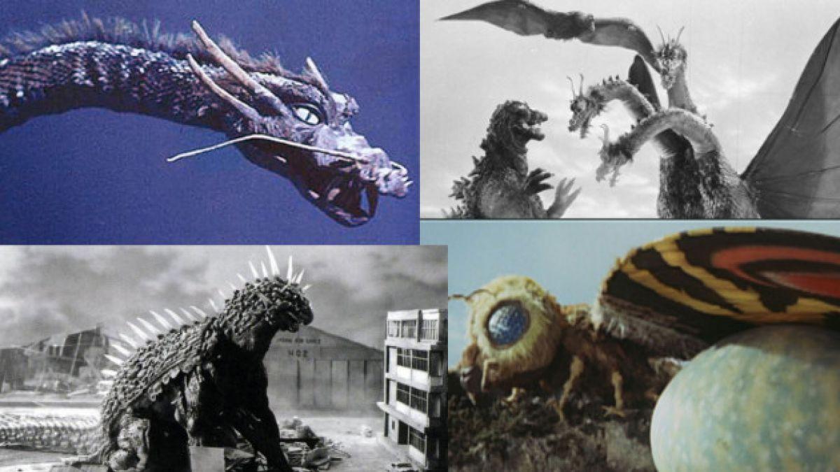 Los 12 monstruos más temibles de las películas de Godzilla