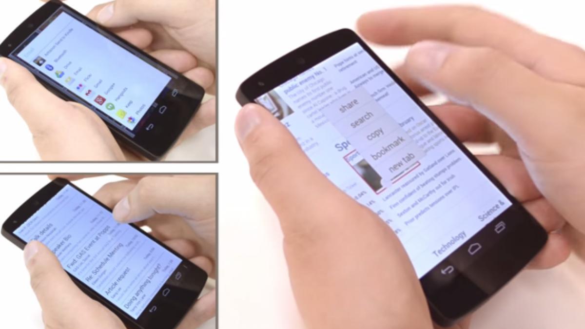 La tecnología que podría cambiar el uso de las pantallas Touch
