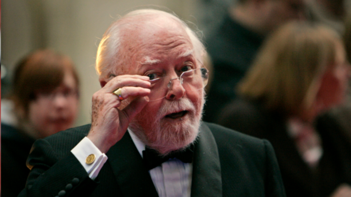 [VIDEOS] Los momentos más importantes en la vida del actor y cineasta Richard Attenborough