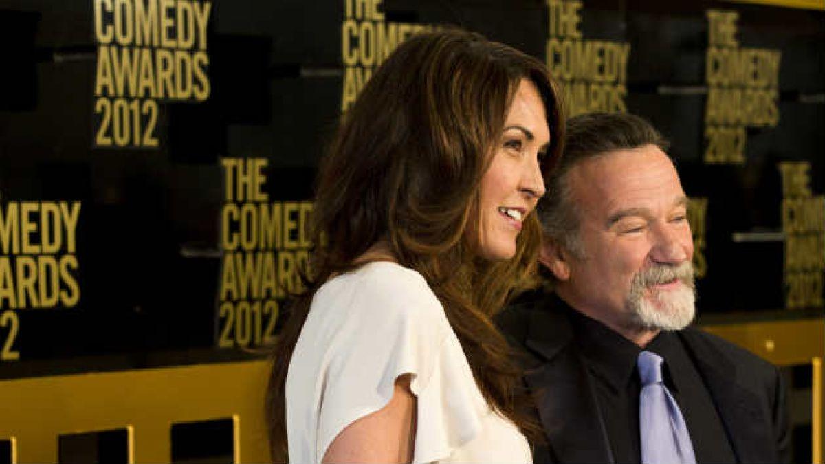 Esposa de Robin Williams: El mundo perdió a uno de sus artistas más queridos