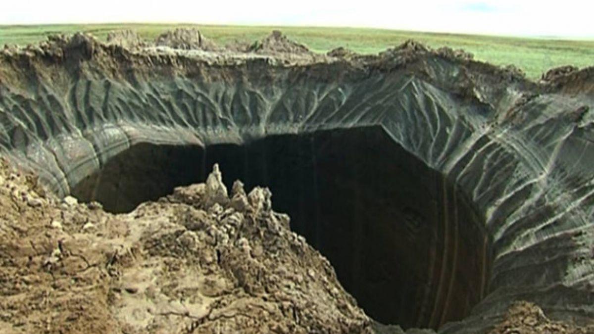Confirman que misteriosos agujeros en Siberia se produjeron por cambio climático