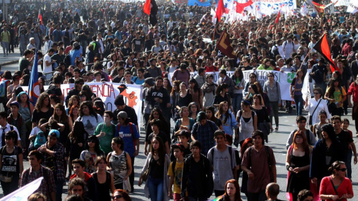 Los detalles de la marcha estudiantil por la reforma educacional