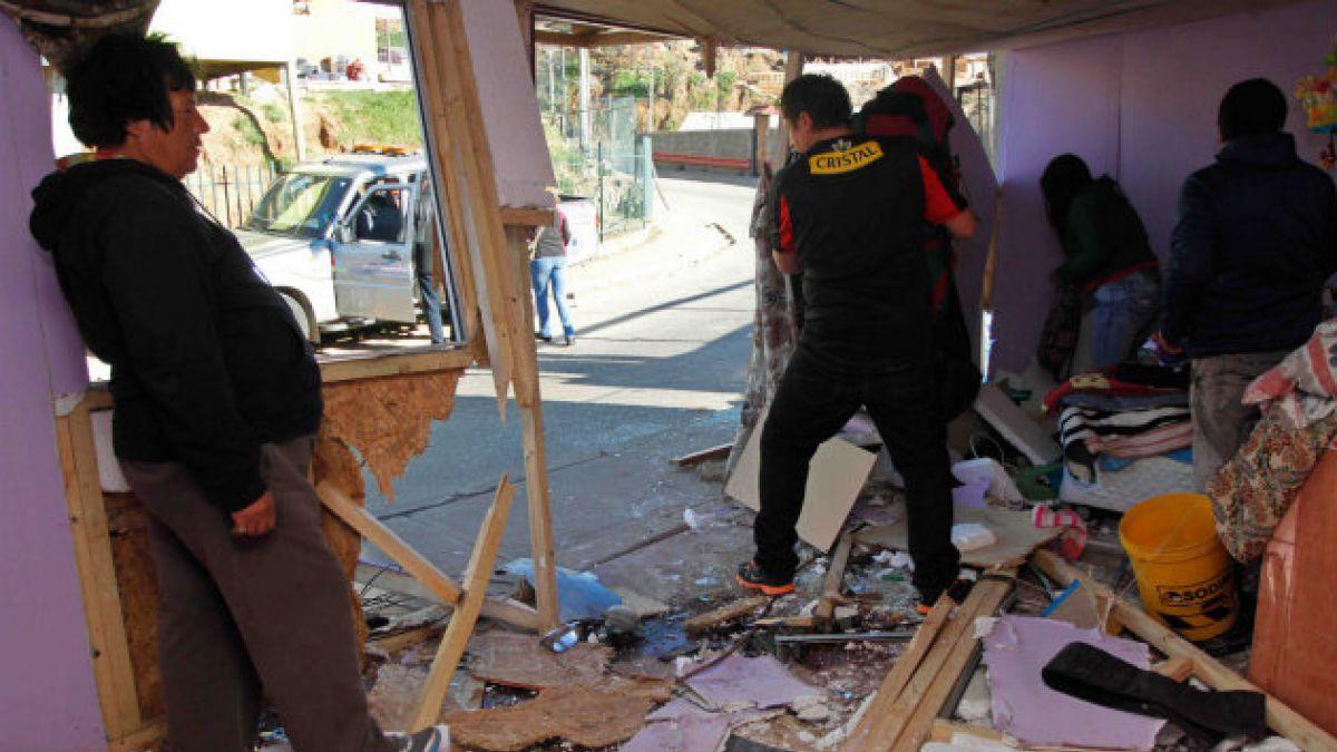 [FOTOS] Estas son las condiciones en las que quedó la casa destruida por carabinero que conducía ebr
