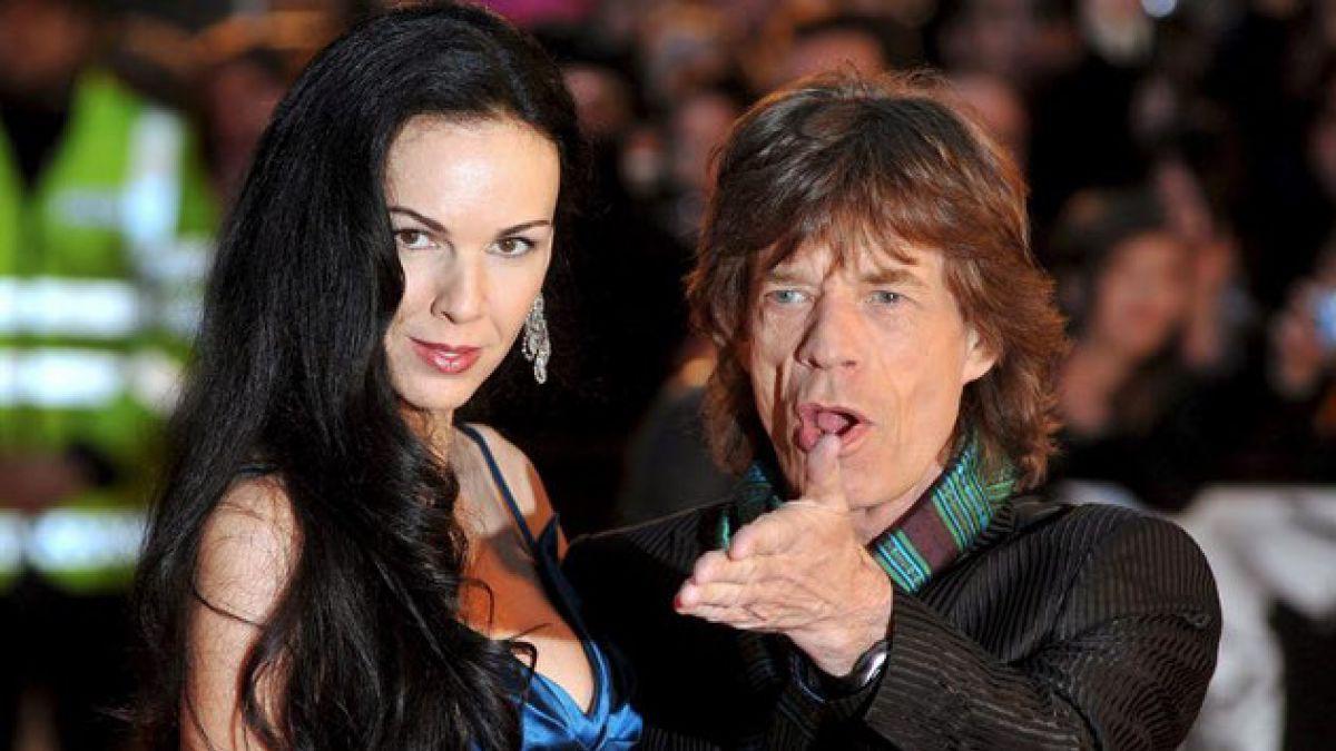 Hallan muerta a novia de Mick Jagger