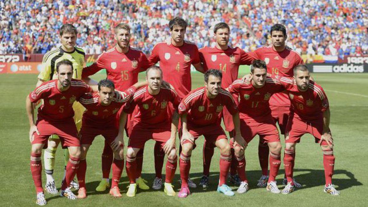 España derrota a El Salvador en la previa de su debut mundialero