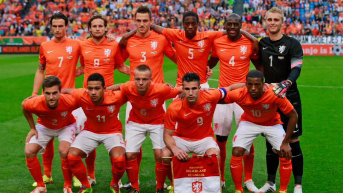 Holanda afina su esquema de cara al mundial
