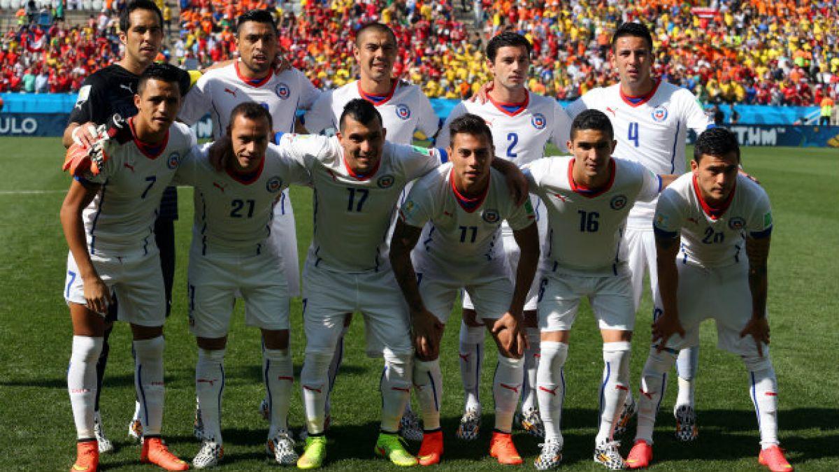 Vota por el mejor jugador chileno del partido entre Chile y Holanda