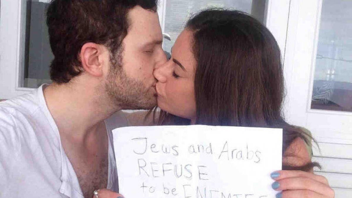 La historia tras la selfie entre una árabe y un israelí que se volvió un símbolo de la paz