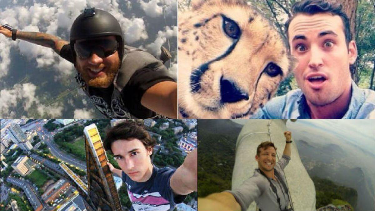 Estas son las 19 selfies más extremas