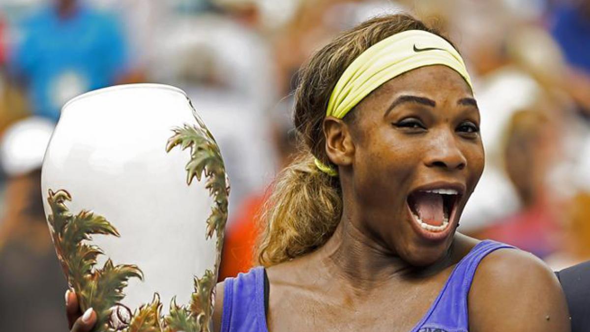 Serena Williams vence a Ivanovic y logra su primer título en Cincinnati