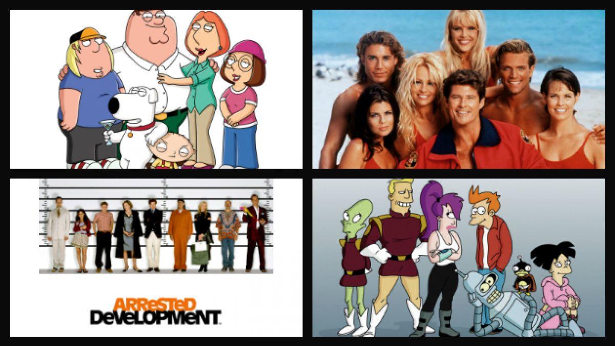 7 populares series que resucitaron tras ser canceladas