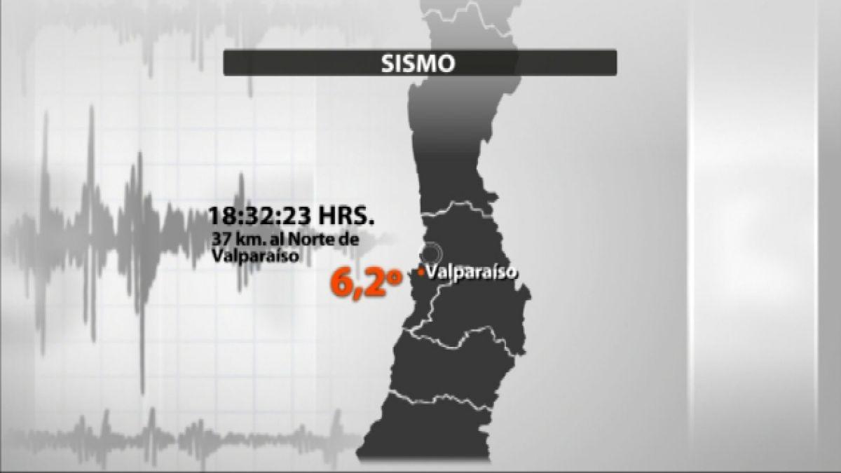 [Minuto a minuto] Temblor de 6.2 grados sacude a siete regiones del país