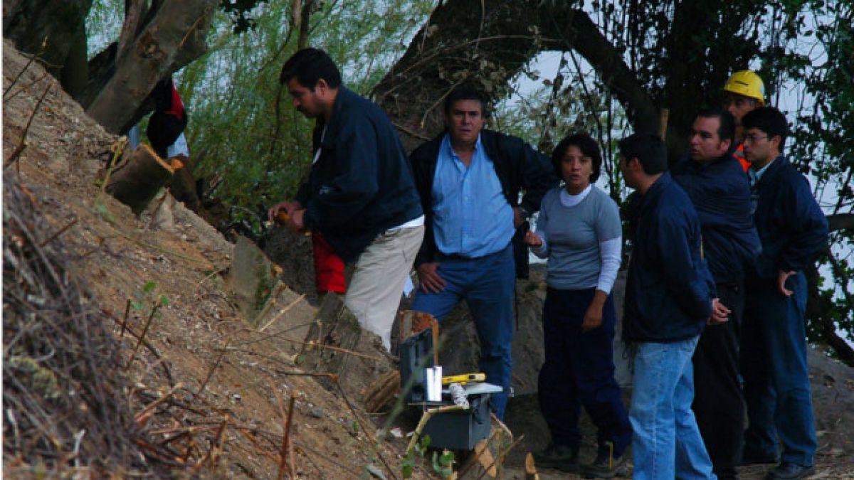 SML inspecciona lugar donde fueron hallados restos de Jorge Matute Johns
