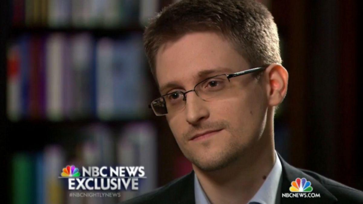 [VIDEO] Edward Snowden cuenta por primera vez qué trabajo de inteligencia hacía para EE.UU.