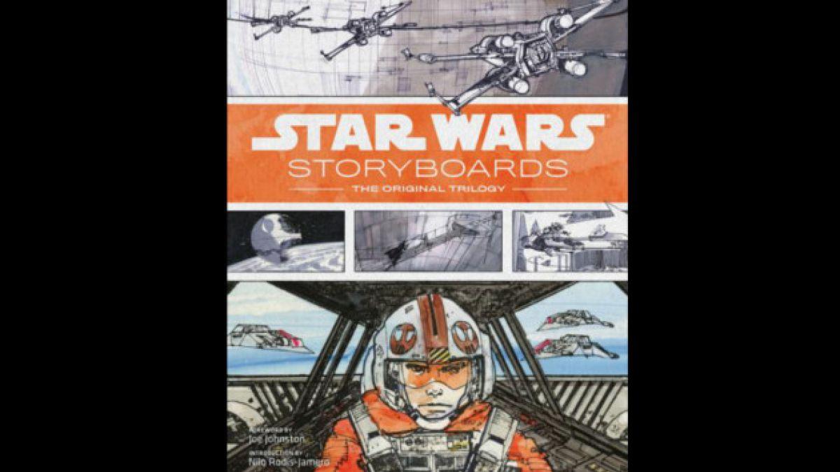 Publican storyboard de la saga original de Star Wars