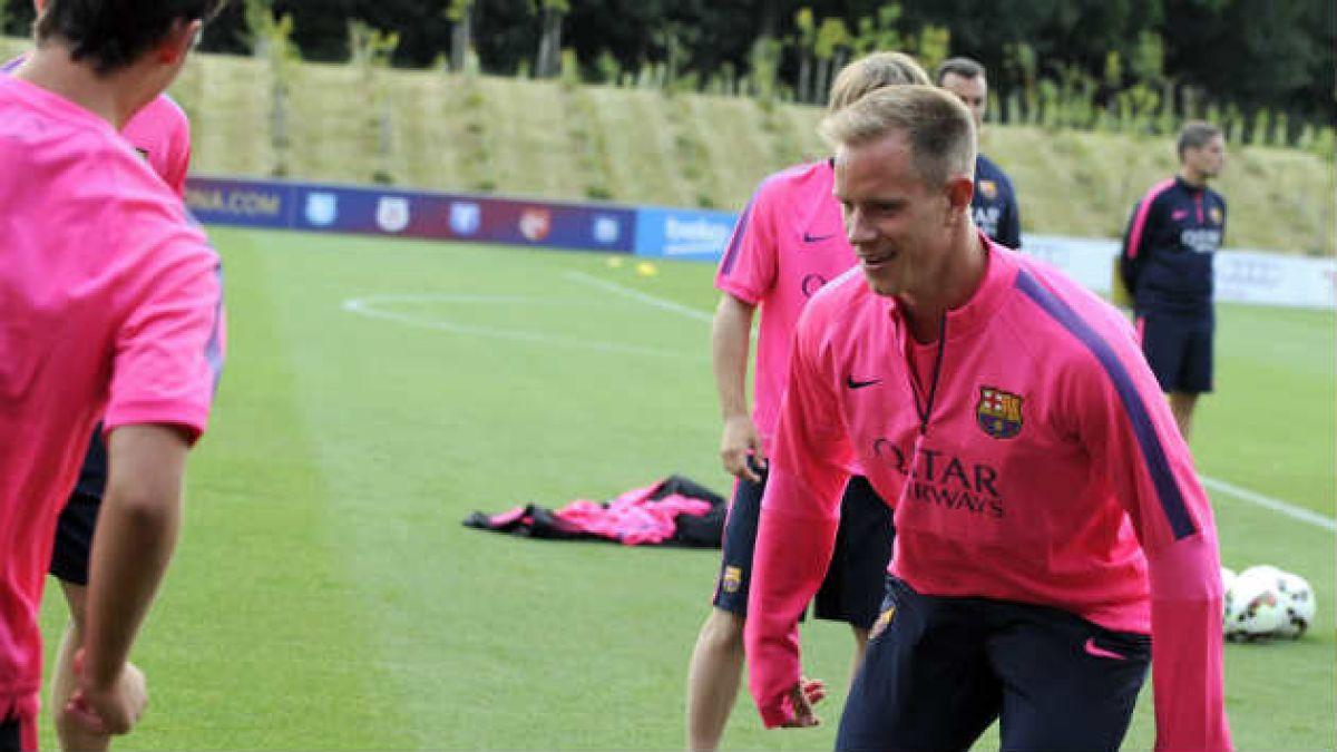 FC Barcelona: Stegen no se plantea hacer banca y peleará puesto con Bravo