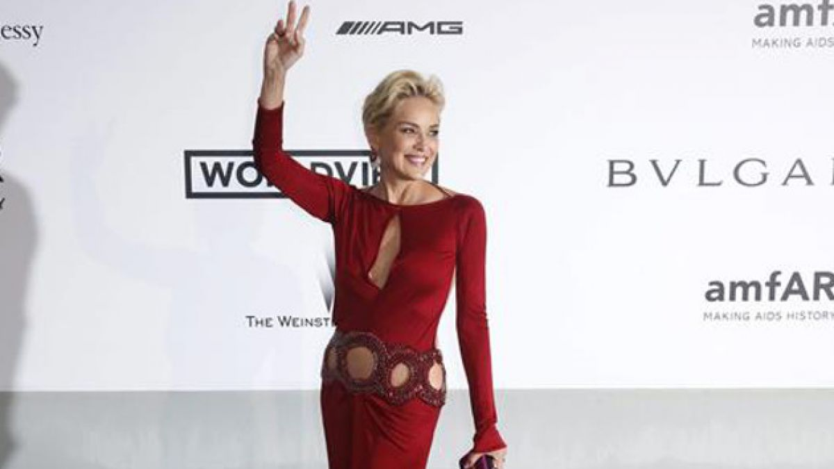 Sharon Stone niega rotundamente supuesto romance con Antonio Banderas