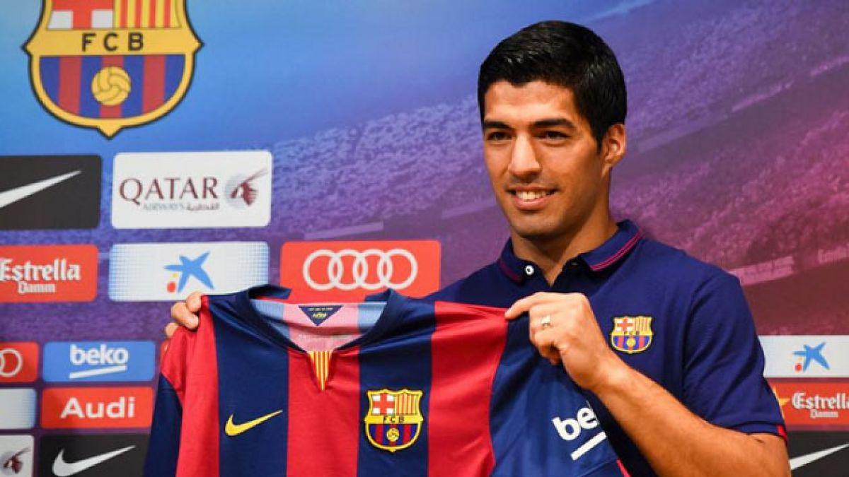 Luis Suárez suspendido del juego FIFA 2015