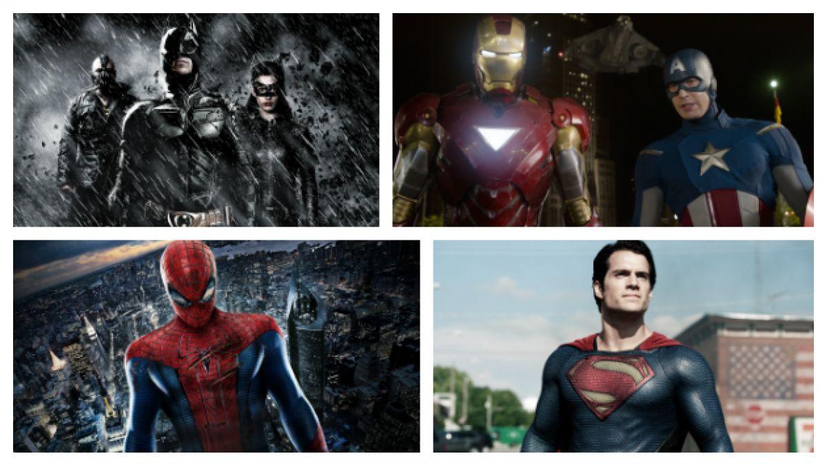Las 10 películas de superhéroes más taquilleras de la historia