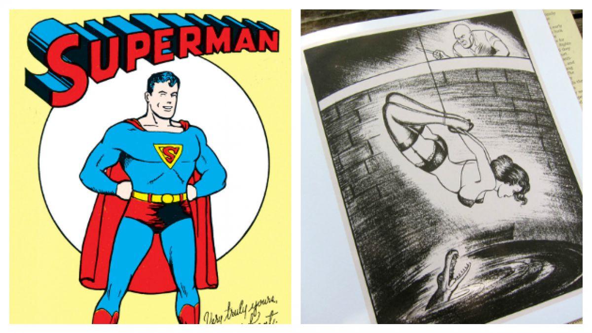 """Este es el """"lado b"""" del co-creador de Superman"""