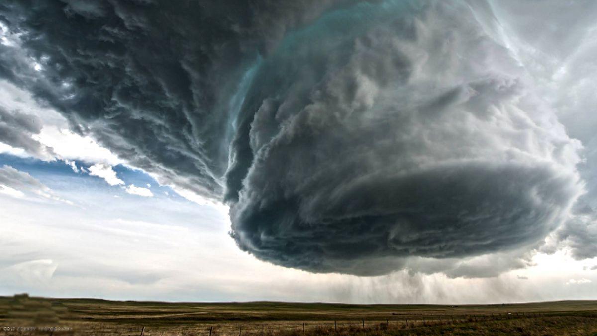 [VIDEO] Así se ve la formación de una súper tormenta en time lapse
