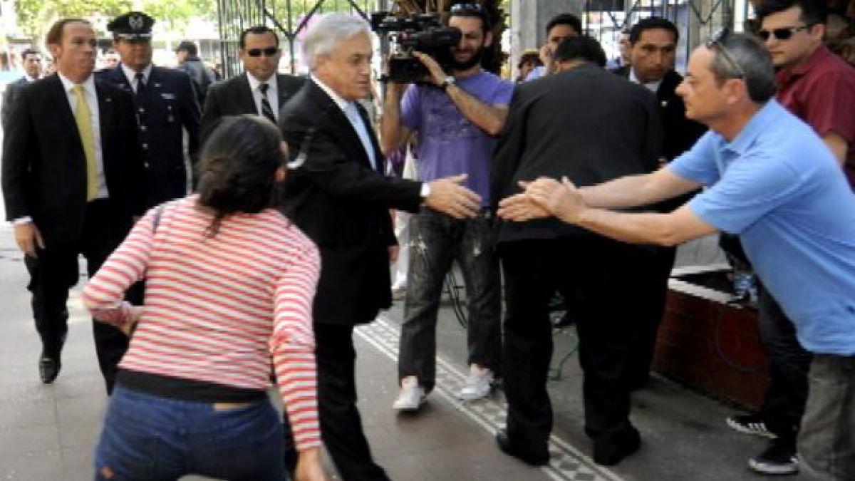 Gobierno presentará querella por agresión al Presidente Piñera