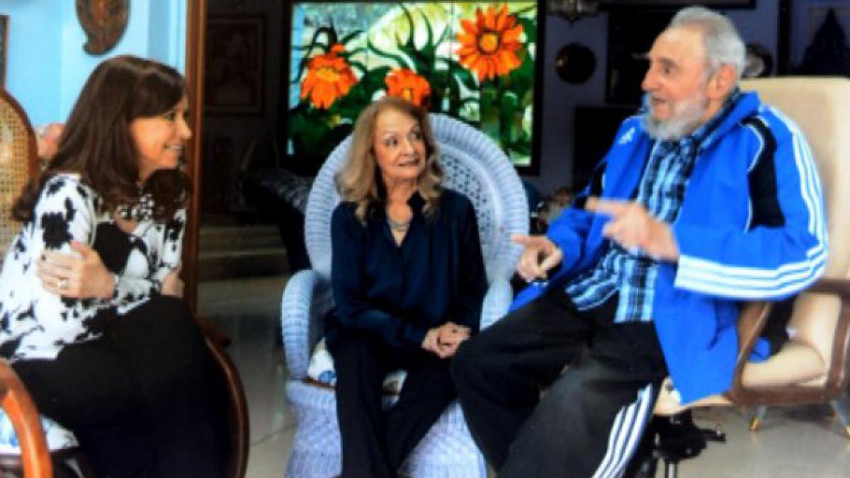 Presidenta Cristina Fernández se reunió con Fidel Castro